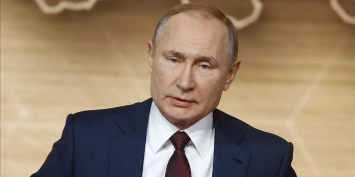 El presidente de Rusia, Vladimir Putin. (Sefa Karacan - Agencia Anadolu)
