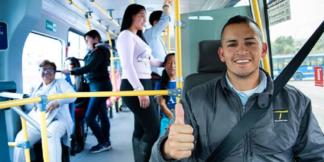 Conductor de TransMilenio (bogota.gov.co)