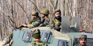 Soldados del Ejército indio. (Faisal Khan - Agencia Anadolu).