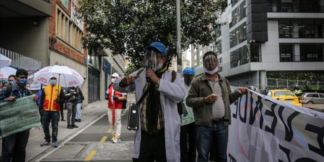 Coronavirus en Colombia (Agencia Anadolu)
