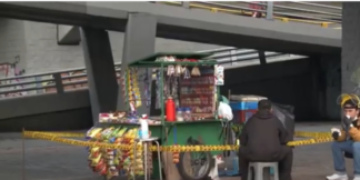 Vendedores informales Bogotá