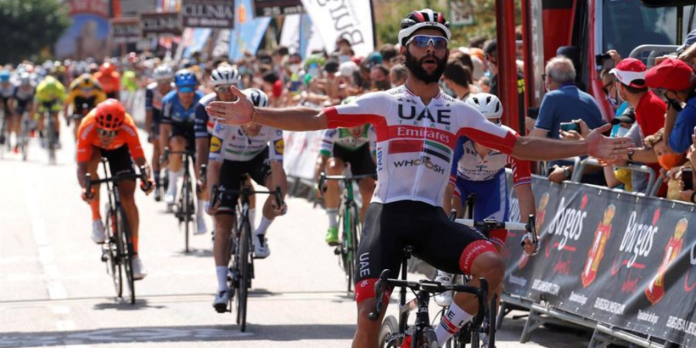 Fernando Gaviria se llevó la segunda etapa a la Vuelta Burgos
