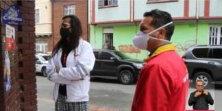 Cuarentena en Los Mártires