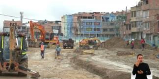 Avanzan obras de infraestructura en Bogotá