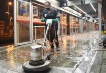 Limpieza y desinfección en TransMilenio