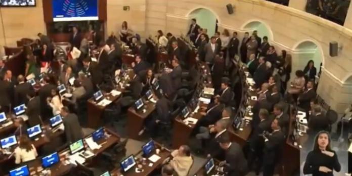 Congreso colombiano inició una nueva legislatura