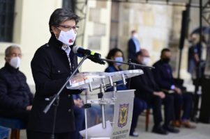 Apoyo a la alcaldesa Claudia López