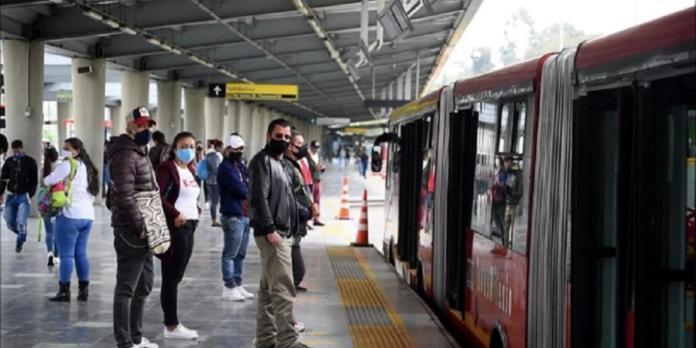 Ocupación de TransMilenio