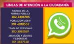 Líneas de atención San Cristóbal.