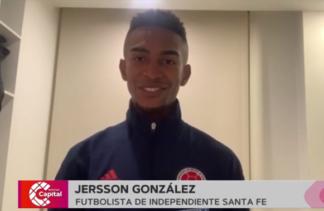 Jersson Gonzáles, futbolista