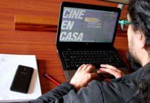 Franja Cine en Casa de BibloRed.