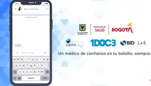 Consultas médicas virtuales.