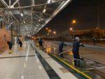 Horarios de limpieza en TransMilenio