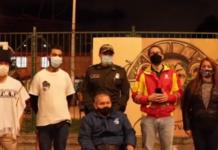 Diálogo entre autoridades y comunidad del Verbenal.