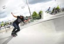 Skatepark del parque Fontanar del Río en Suba.