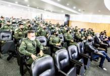 Formación de policías.