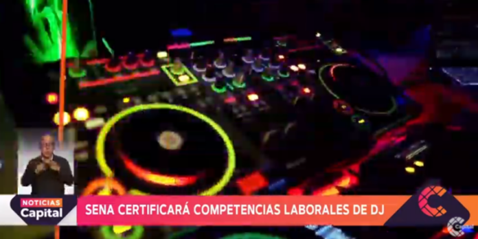 Certificación a DJ.