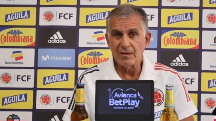 Carlos Queiroz, técnico de la Selección Colombiana de Fútbol.