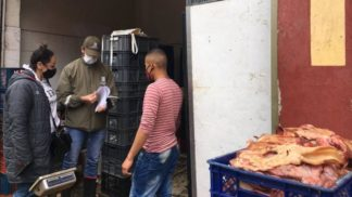 Revisión de normas a carnicerías carca al frigorífico de Guadalupe.