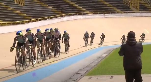 Ciclismo de pista.