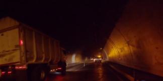 Mantenimientos en el túnel de Sumapaz.