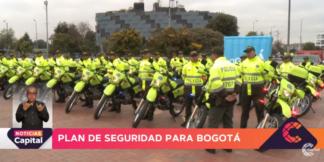 Policías de Bogotá.