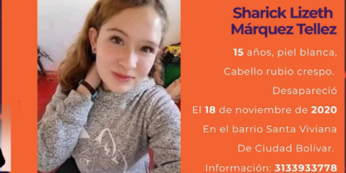 Sharik Lizeth Márquez.