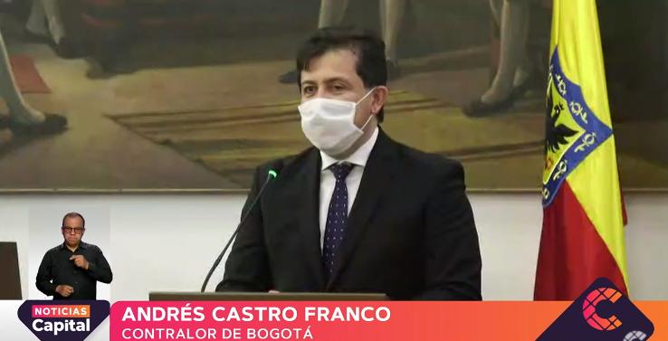 Andrés Castro Franco es el nuevo Contralor de Bogotá
