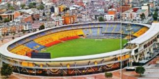 Estadio Campín.