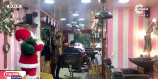 barbería de venezolanos.