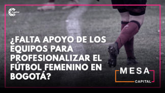 Apoyo al fútbol femenino en Bogotá