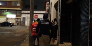 Polícia de migración