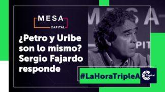 Petro y Uribe ¿son lo mismo?